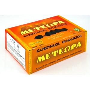 Уголь кадильный быстроразжигаемый «Метеора» 22 мм