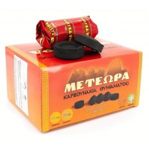 Уголь кадильный быстроразжигаемый «Метеора» 40 мм