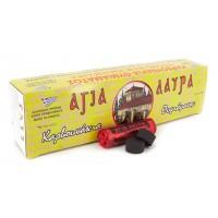 Уголь быстроразжигающийся «Агия Лаура» 27мм