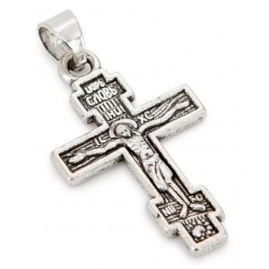 Крест 8-ми конечный, нательный средний
